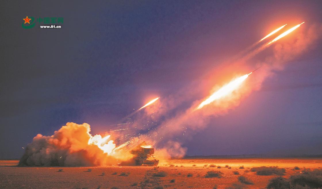 大漠深处起风雷!一场实弹演练考核在西北大漠打响